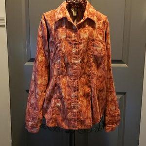 Woolrich womens 100% cotton shirt